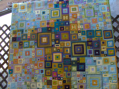 Crazy Log Cabin quilt... HPIM0342 | by jennconspiracy