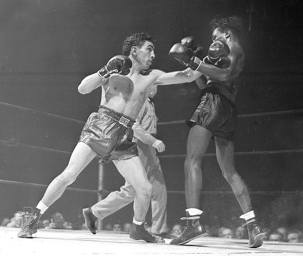 Willie Pep Vs Albert Quot Chalky Quot Wright Challenger Willie