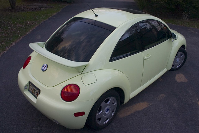 Bug11 2001 Vw New Beetle Gls Turbo In Isotope Green We