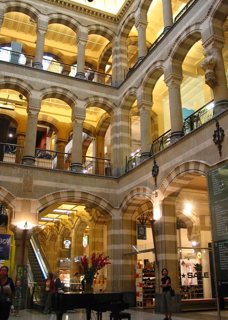 Magna Plaza shopping mall in Amsterdam, Netherlands | Flickr
