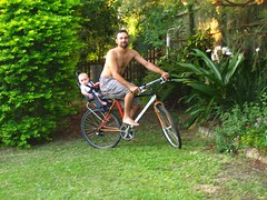 Bike baby seat test run | by Garion88