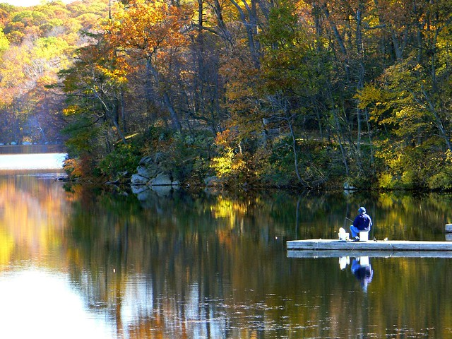 Fishing on shepard 39 s lake anna gerdes flickr for Lake anna fishing report
