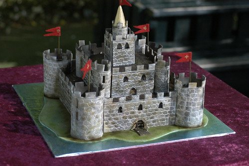 Medieval Wedding Cake Toppers