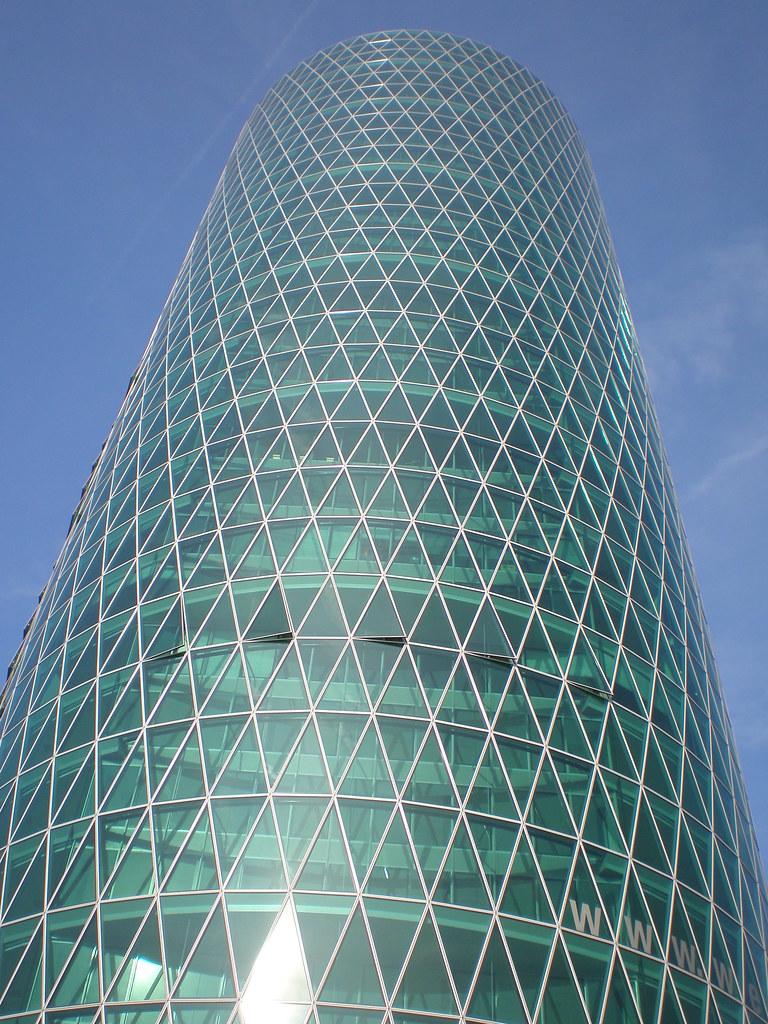 Schneider Schumacher westhafen tower schneider schumacher 2003 frankfurt am flickr