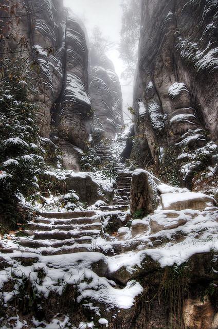 Emperor's Corridor - Prachov Rocks   I did a little