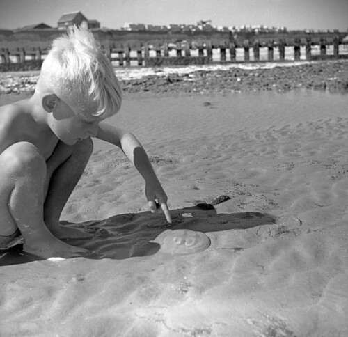 On the beach, 1949 | by mgjefferies