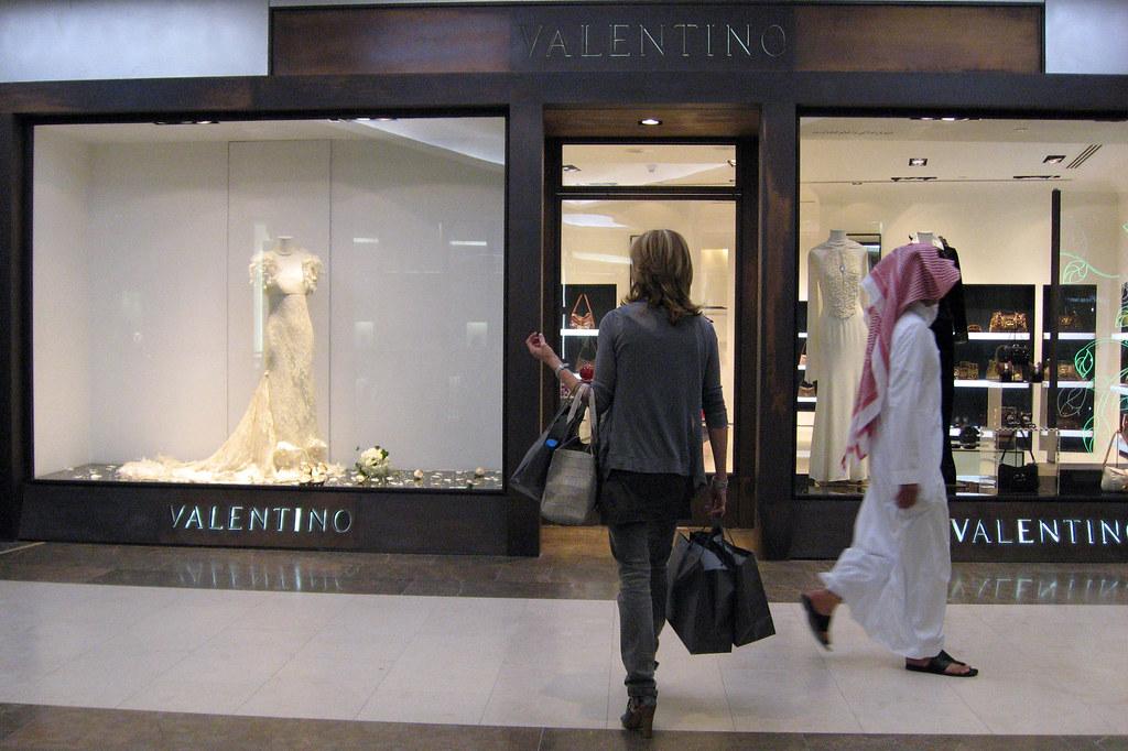 Valentino boutique dubai mall of the emirates of all for Boutique one dubai