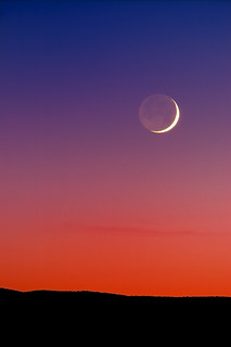 Grand Crescent Moon Sunset | by Fort Photo