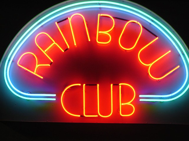 Rainbow Club At The National Automobile Museum In Reno