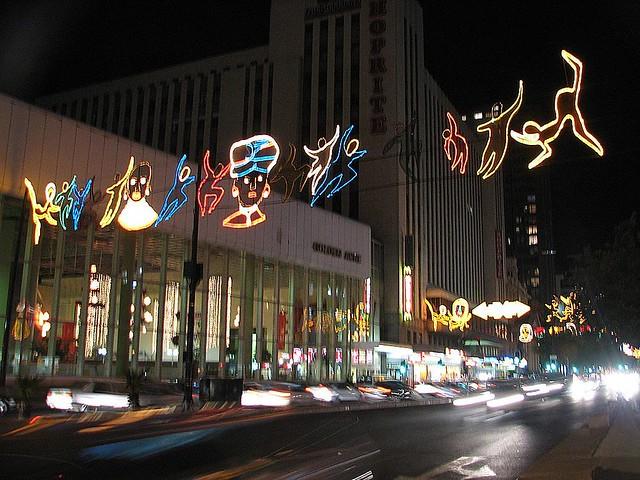 Christmas Lights White