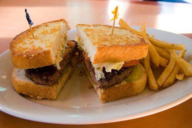Frisco Burger at Marie...