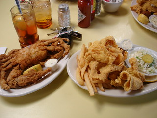 Crab and Catfish at Middendorf's | by Fuzzy Gerdes