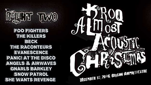 Kroq Almost Acoustic Christmas.Kroq Almost Acoustic Christmas 2006 One Could Only Dream T
