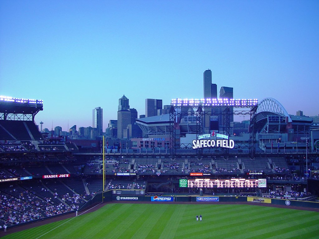 "Seattle from Safeco | Although the roof can ""close"" on the ..."