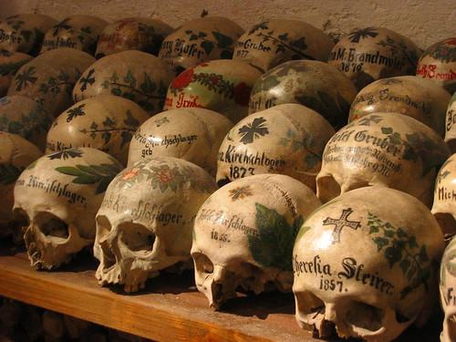Ossuary in Halstatt