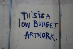This is low budget artwork | by Tristan Manco