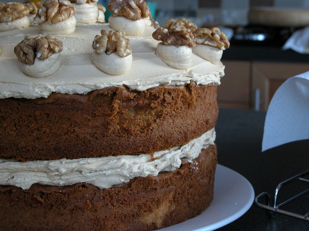 Coffee Walnut Cake Recipe Nigel Slater