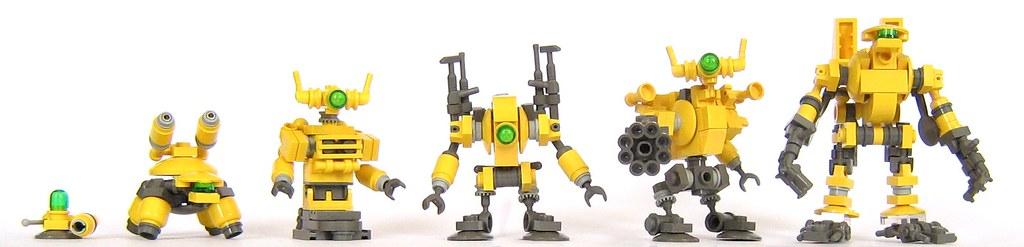 Как сделать робота из лего смотреть