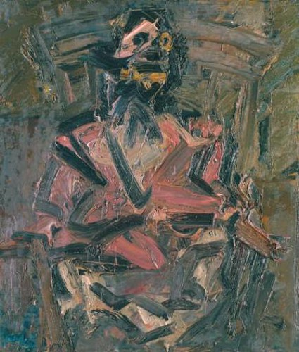 Frank Auerbach, J.Y.M. Seated No. 1 | by rodcorp