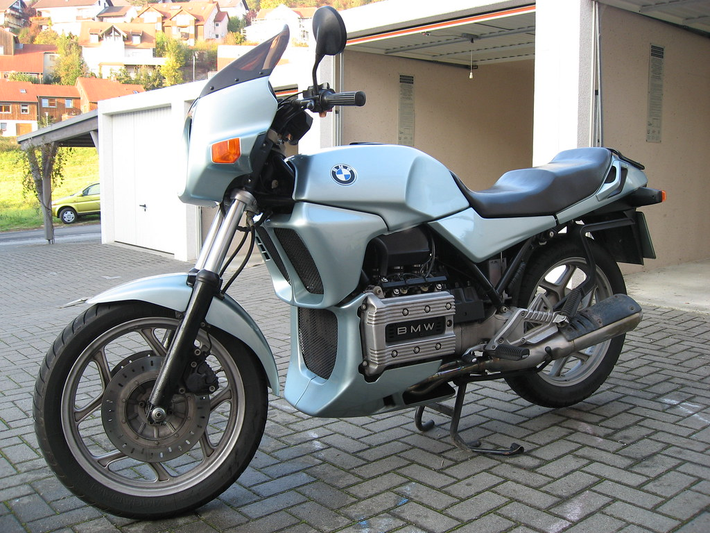 bmw k75 c 2 bmw k75 c baujahr 1986 pilot micha flickr. Black Bedroom Furniture Sets. Home Design Ideas
