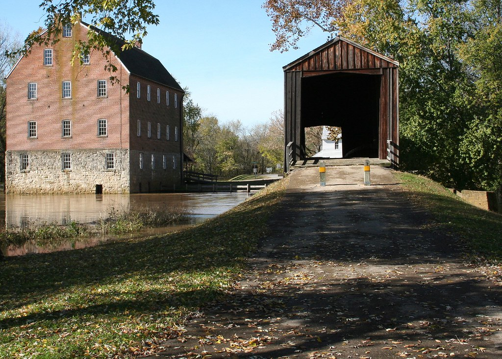 Bridge And Mill Bollinger Mill State Historic Site