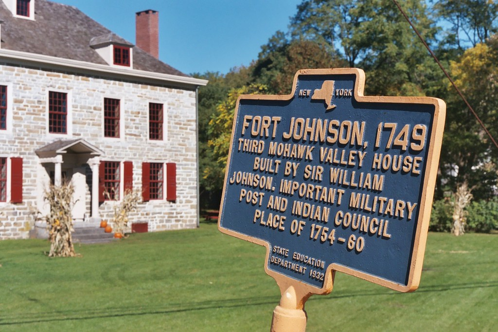 Old Fort Johnson Fort Johnson 1749 Third Mohawk Valley Ho Flickr