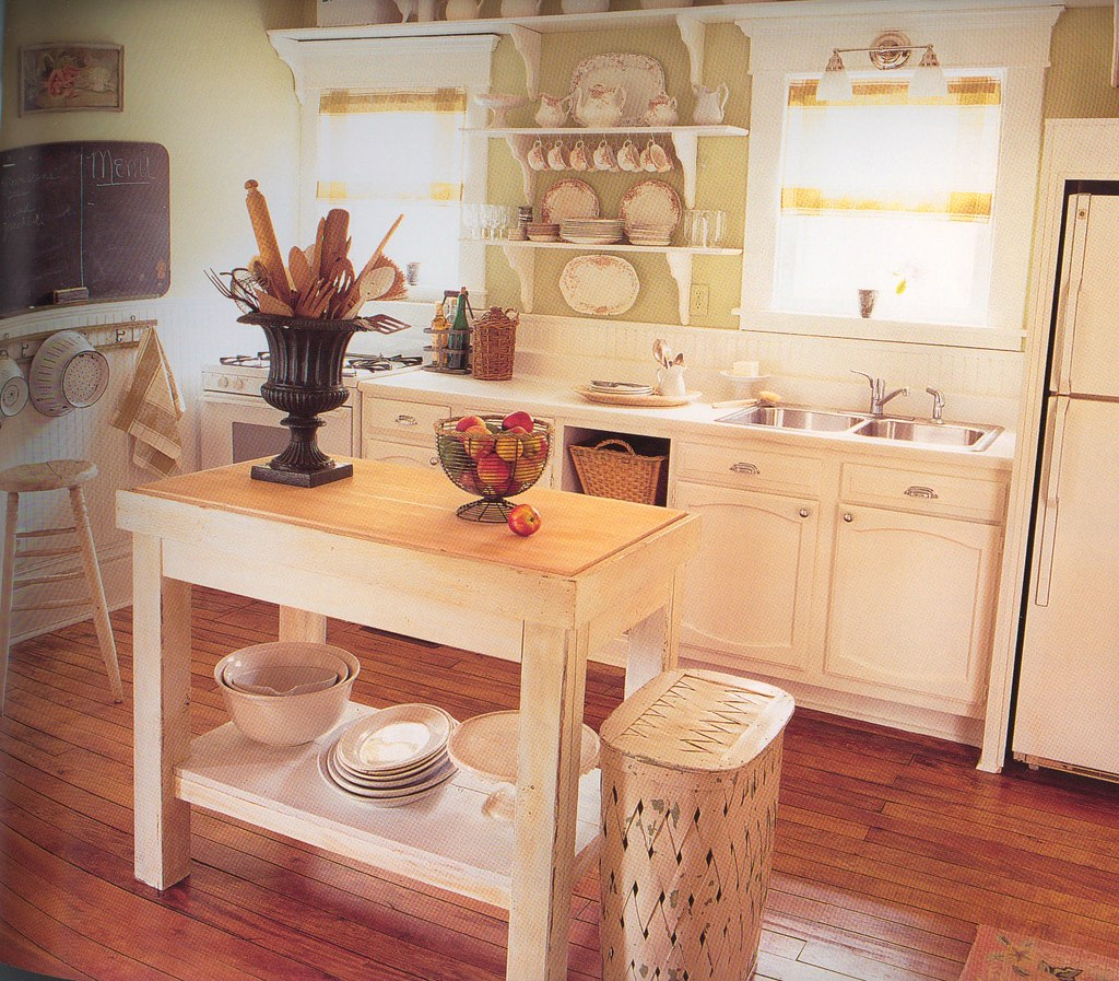 Another dream kitchen check out the lights over the for Small kitchen decor