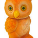 Golden Owl Coin Bank