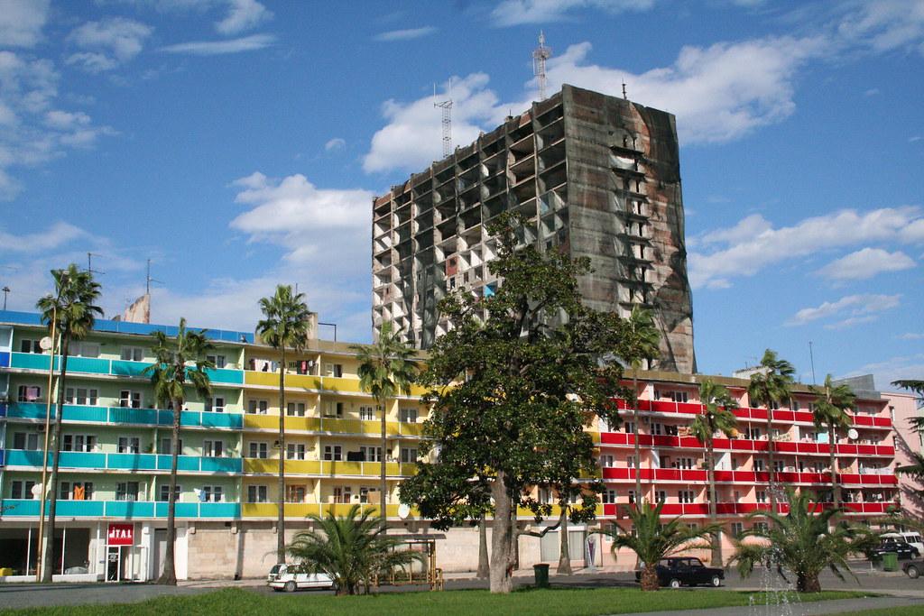 Apartment Buildings In Batumi Brankinha Flickr