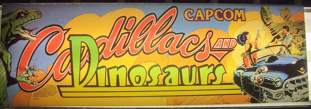 capcom cadillacs and dinosaurs marquee taco dog99 flickr. Cars Review. Best American Auto & Cars Review