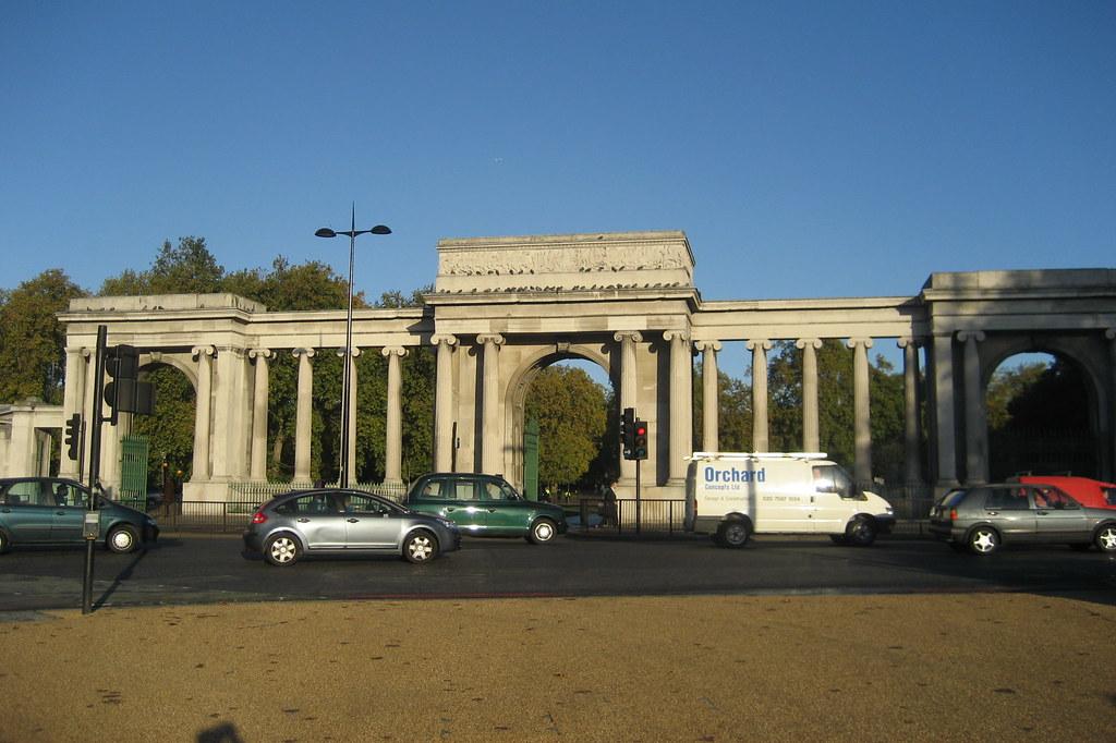 Uk London Knightsbridge Hyde Park Corner Hyde Park