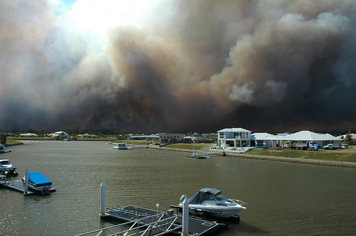 Pelican Waters Bush Fire 16th November 2006 | by thinboyfatter