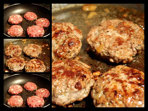 Homemade Lamb & Onion Burgers | by Sunshine Hanan