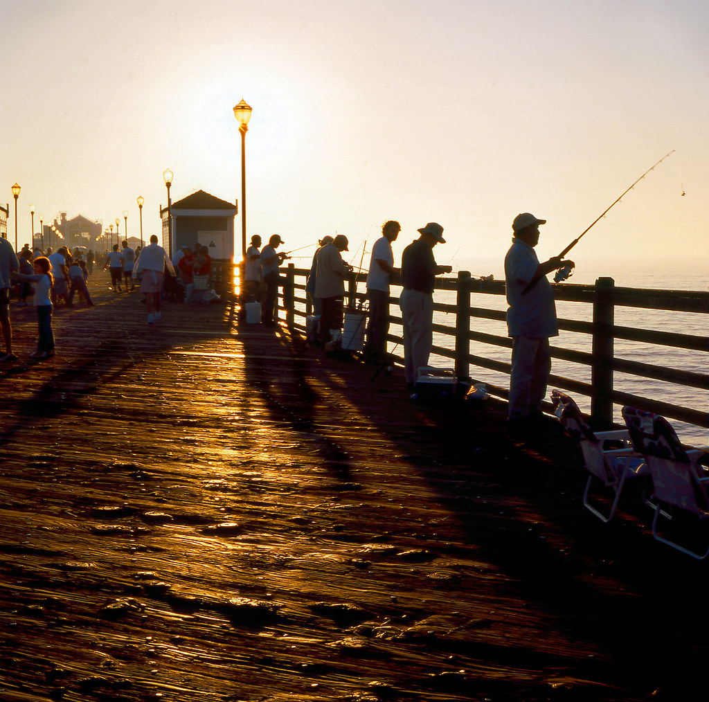 Oceanside pier ca it 39 s not about fish yashica mat 124g for Oceanside pier fishing reports