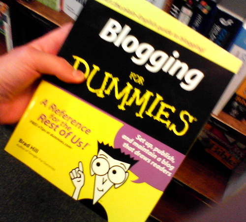 Blogging For Dummies | by Frank Gruber