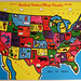 Built-Rite United States Map Puzzle