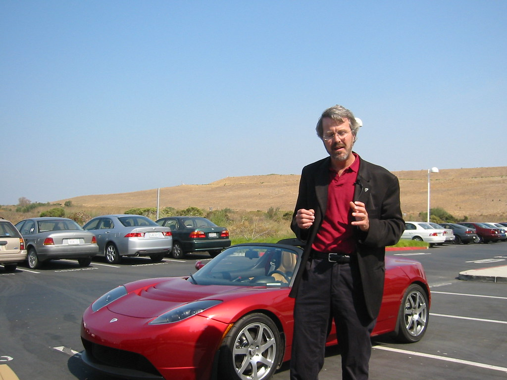 Martin Eberhard Amp Tesla Roadster Schnaars Flickr