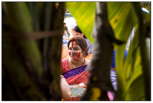Sindoor Khela at Durga Puja | by Sandip Debnath