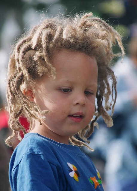 Dreadlocks Little Boy At The Rally Brad Flickr