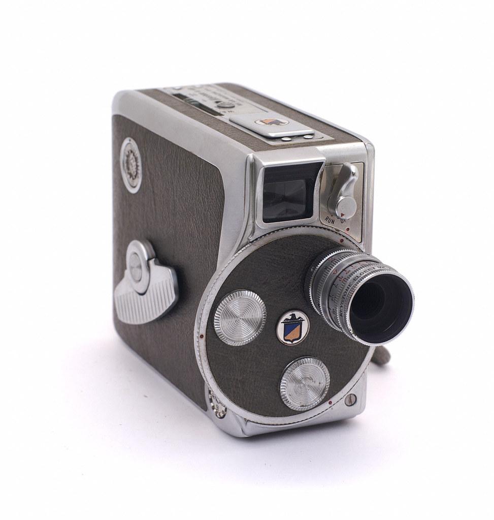 Keystone K-48 Bel Air Movie Camera | Manufactured around 196… | Flickr