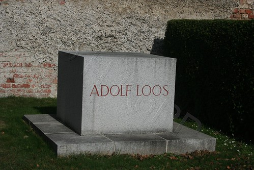 Grave of 'Adolf Loos' @ Vienna's 'Zentralfriedhof'   Flickr