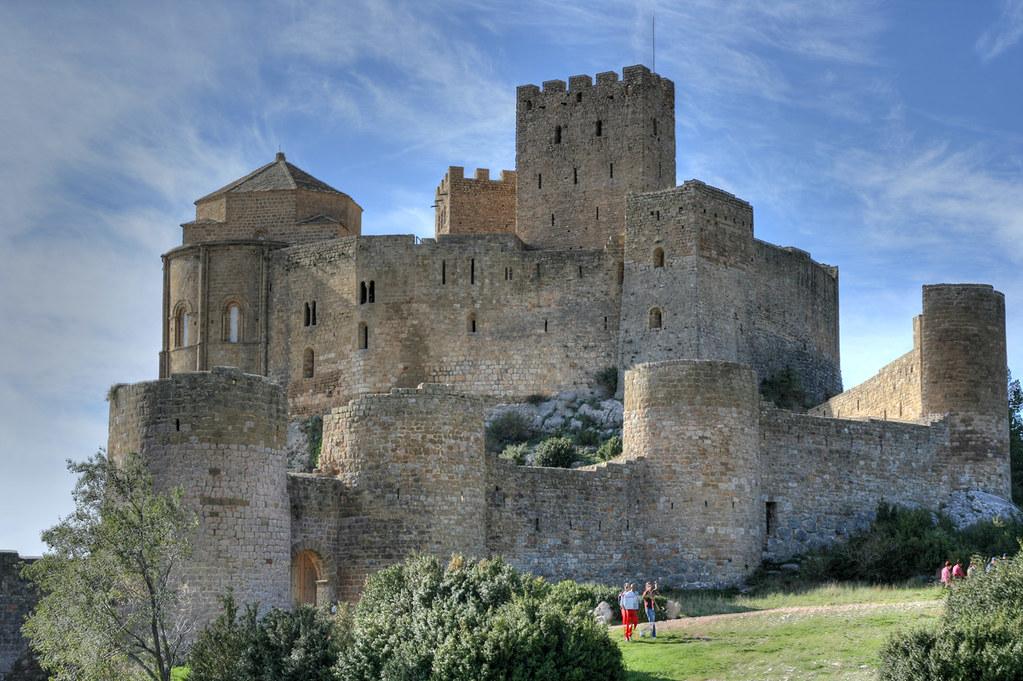 Loarre Castle   Castillo de Loarre. Loarre castle, Huesca
