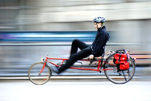 Recumbent bicycle | by manganite