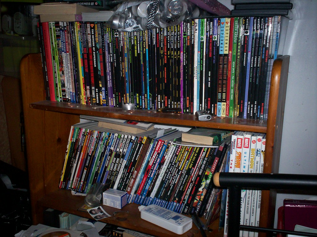 My, somewhat meagre, comic collection! | Me? Bit of a geek ...