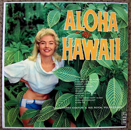 Harry Kaapuni And His Royal Polynesians Blue Hawaiian Waters