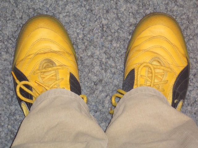 Puma Shoes Yellow And Black