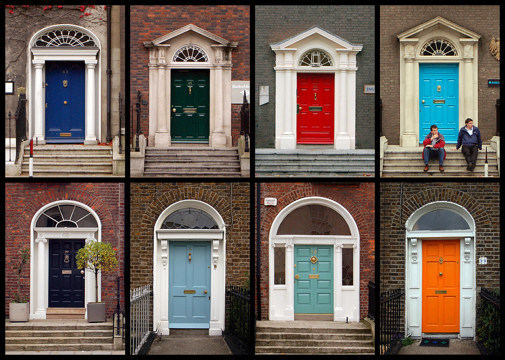 ... Dublin Doors | by Mister Rad & Dublin Doors | Dublin\u0027s somewhat famous for it\u0027s Georgian to\u2026 | Flickr