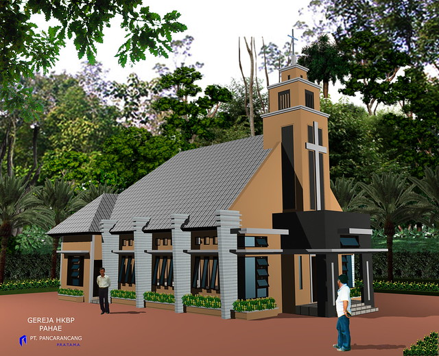 Desain Gereja Pahae