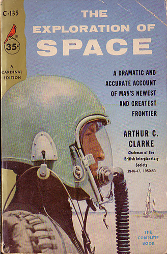 Book Cover White Jeans ~ Book covers arthur c clarke s quot the exploration of space