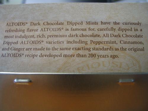 Chocolate Covered Altoids Ebay